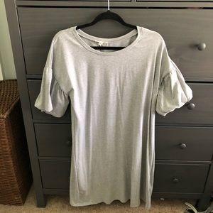 Puffy Sleeve Dress